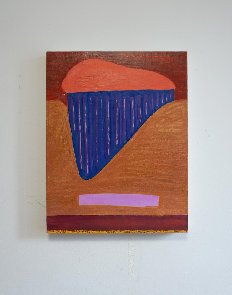 Rachel Chaldu Abstract Painting - My Mother Owes me a Willow Tree