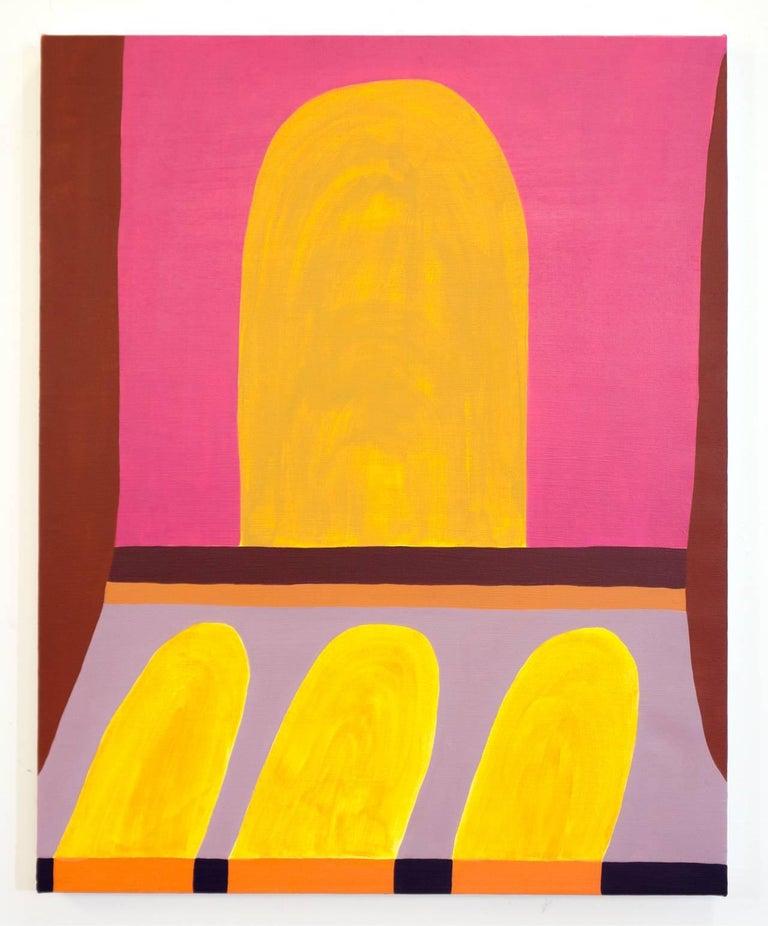 Rachel Chaldu Abstract Painting - Pathways