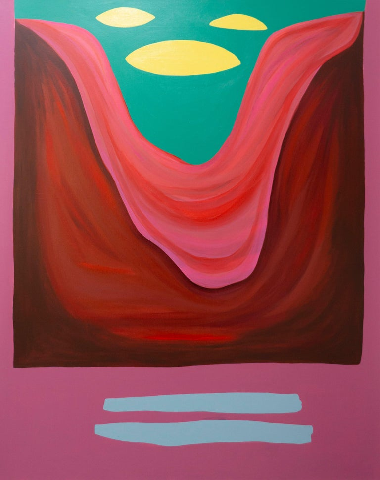 Rachel Chaldu Landscape Painting - This Land Was Made