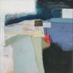 Rachel Cronin, After the Rain, Abstract Landscape Art, Original Painting