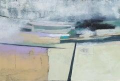 Rachel Cronin, The Plateau, Original Landscape Painting, Affordable Art