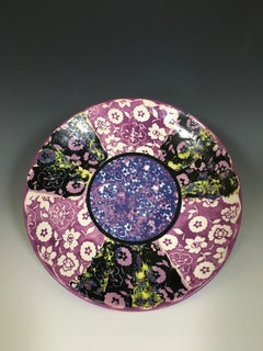 Violet Pattern Plate