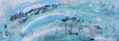 Seaspray, Painting, Acrylic on Metal