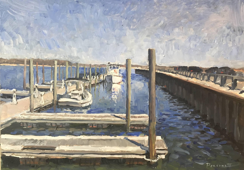 The Docks in April
