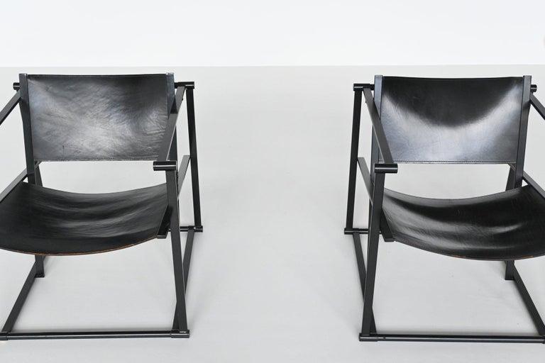 Radboud Van Beekum FM61 Cubic Lounge Chairs Pastoe the Netherlands, 1980 For Sale 2