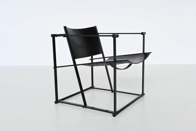 Radboud Van Beekum FM61 Cubic Lounge Chairs Pastoe the Netherlands, 1980 For Sale 4