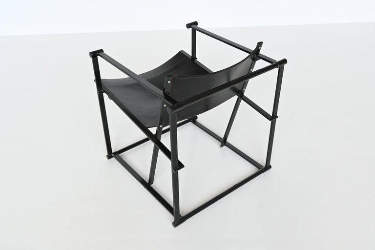 Radboud Van Beekum FM61 Cubic Lounge Chairs Pastoe the Netherlands, 1980 For Sale 5