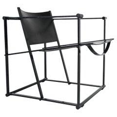 Radboud Van Beekum FM62 Cubic Chair Pastoe, the Netherlands, 1980