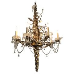 Radiant Large Artisanal Maison Bagues Ornate Chandelier