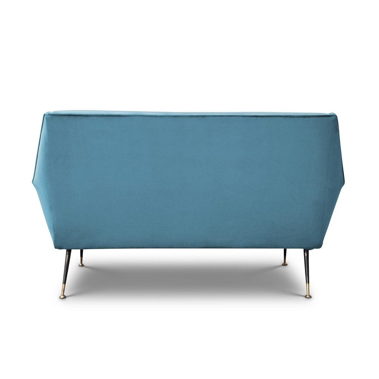 Mid-Century Modern Radice 2-Seat Sofa by Gigi Radice For Sale