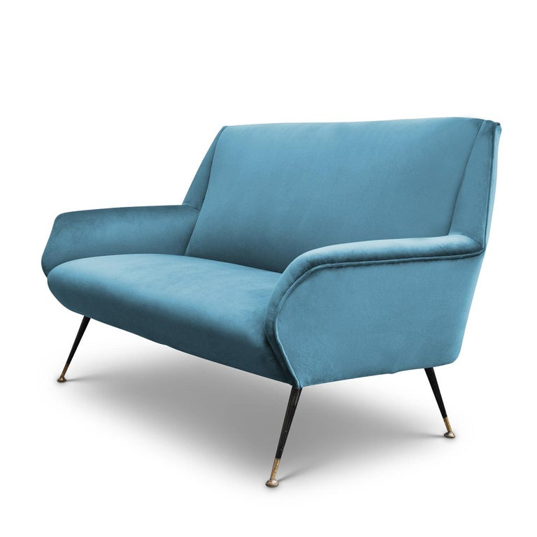 Italian Radice 2-Seat Sofa by Gigi Radice For Sale