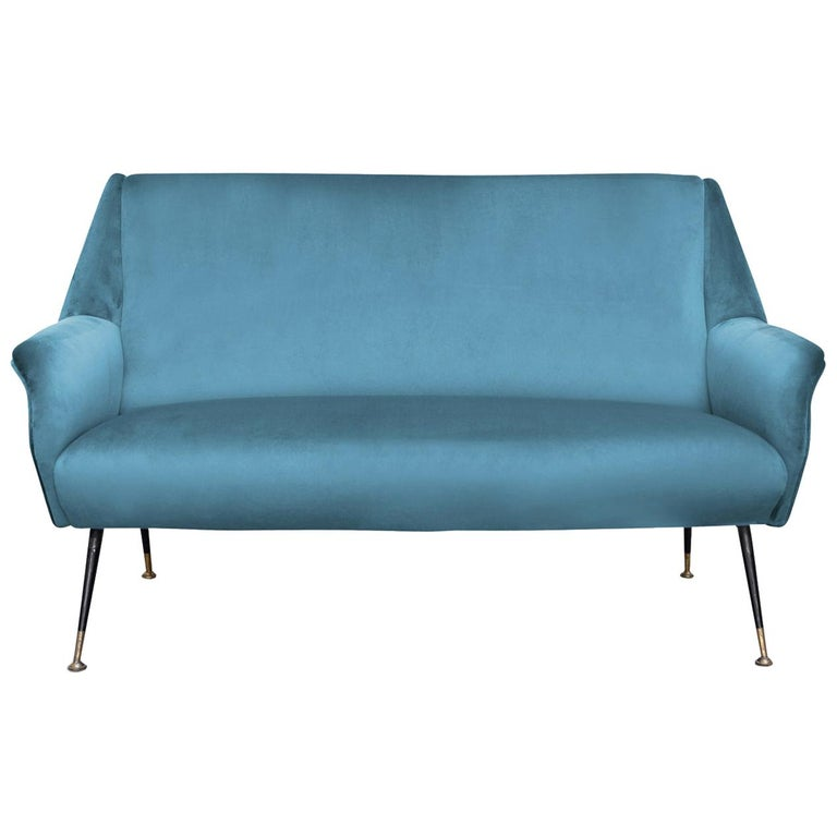 Radice 2-Seat Sofa by Gigi Radice For Sale