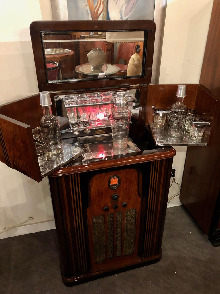 Radio Bar Company Of America Philco Radio Bluetooth