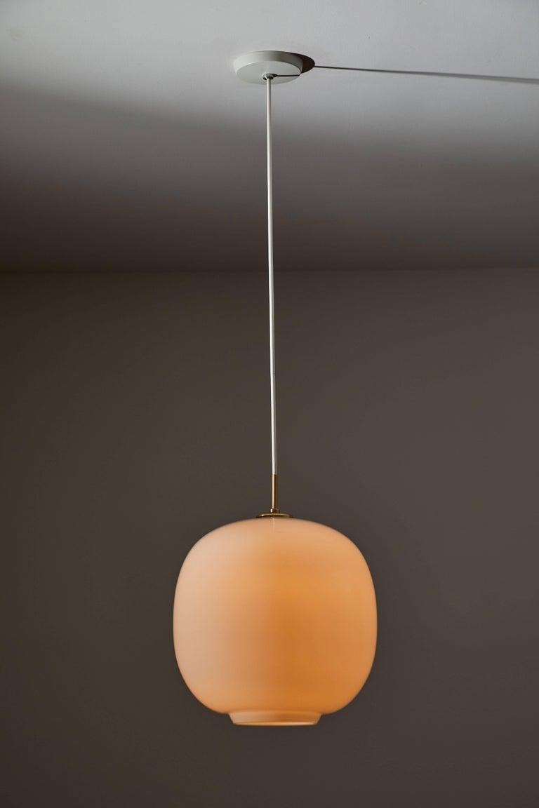 Mid-Century Modern Radiohus VL45 Pendant by Vilhelm Lauritzen for Louis Poulsen For Sale