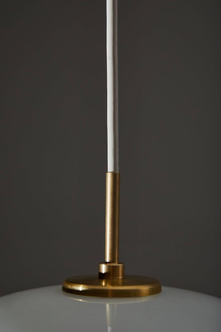 Brass Radiohus VL45 Pendant by Vilhelm Lauritzen for Louis Poulsen For Sale