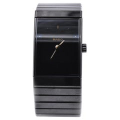Rado Black Ceramic and Titanium Gents Watch Ref. 196.0364.3