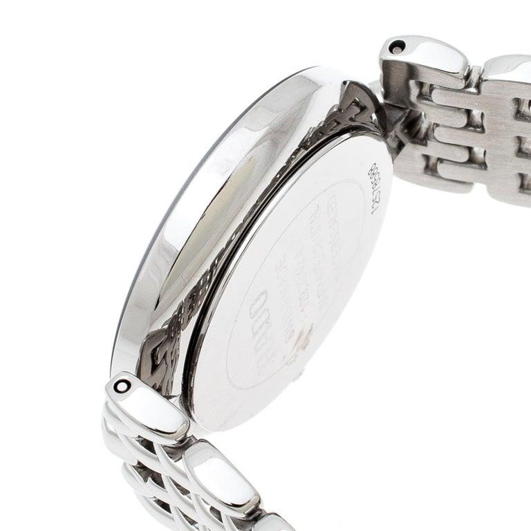 Rado Black Stainless Steel Florence 01.129.3742.4.015 Men's Wristwatch 32 mm In Good Condition For Sale In Dubai, Al Qouz 2
