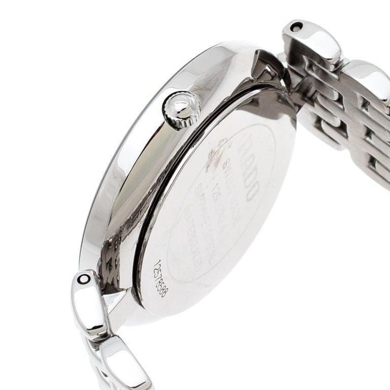 Rado Black Stainless Steel Florence 01.129.3742.4.015 Men's Wristwatch 32 mm For Sale 1
