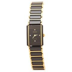 Rado Black   Titanium Ceramic Integral Jubilee 153.038Women's Wristwatch 18 mm