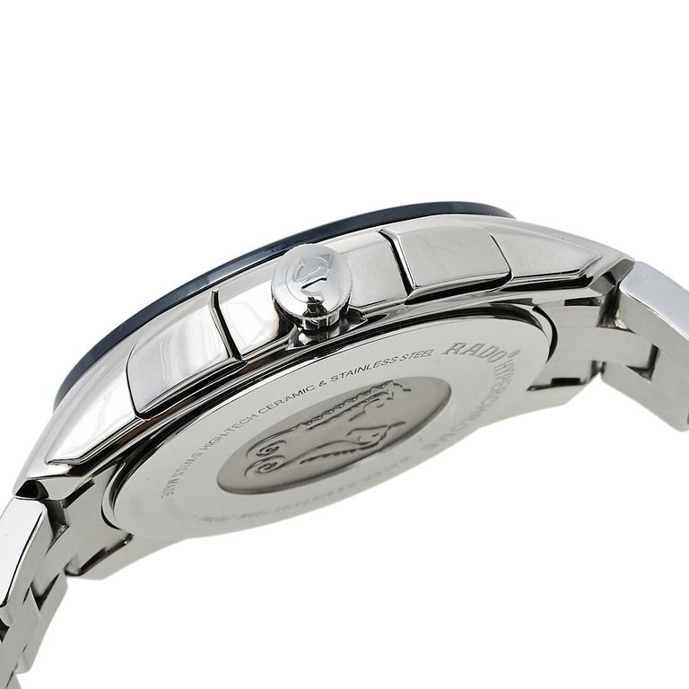 Rado Blue Stainless Steel HyperChrome R32259203 Chrono Men's Wristwatch 44 mm 3