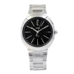 Rado D-Star Black Dial Date Stainless Steel Men's Automatic Watch R15329153