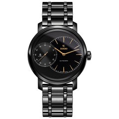 Rado Diamaster Grande Seconde Automatic Black Ceramic Men's Watch R14127152