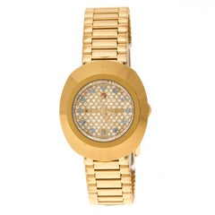 Rado Diastar Gold Plated SS Gold Women's Wristwatch 27 mm
