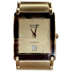 Rado Florence Jubile Men's Quartz, Date Watch 91406, Gold Tone