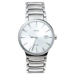 Rado Grey Stainless Steel Centrix R30939103 Automatic Men's Wristwatch 38MM