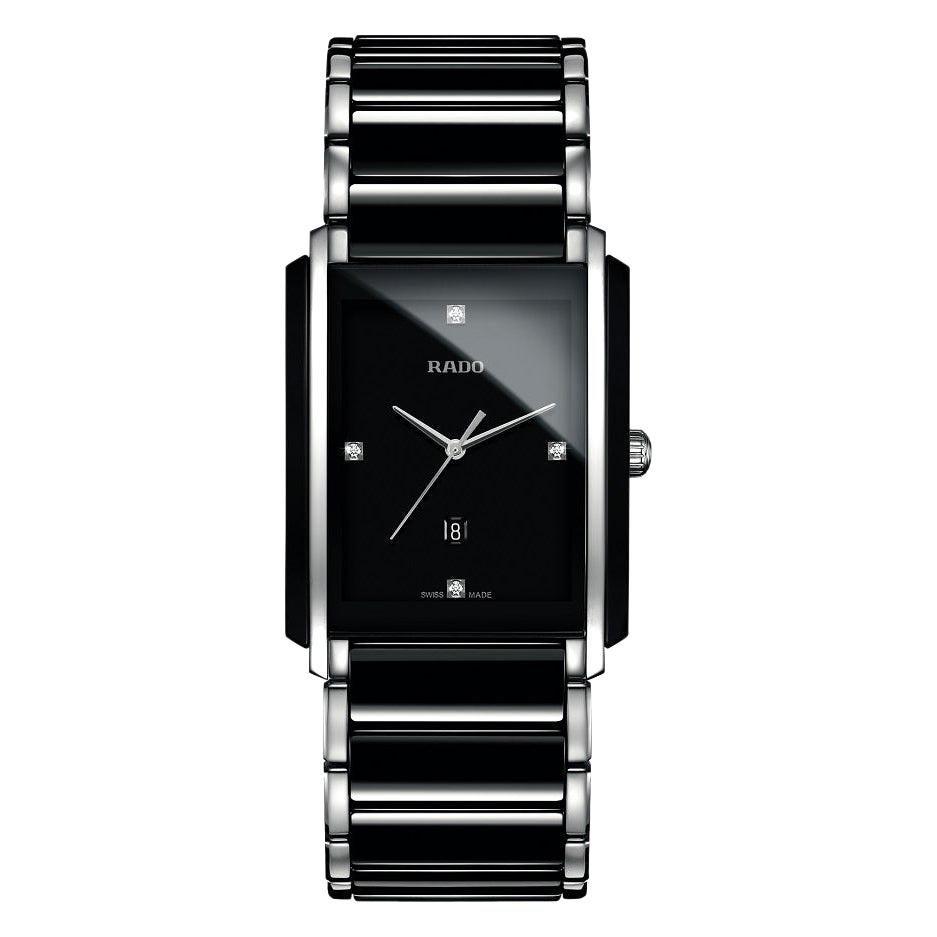 Rado Integral Diamond Black Ceramic Watch R20206712
