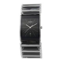 Rado Integral PVD Coated Steel Quartz Black Dial Men's Watch R20861152