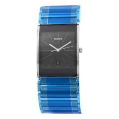 Rado Integral XL Black Dial PVD Stainless Steel Men's Watch R20861159