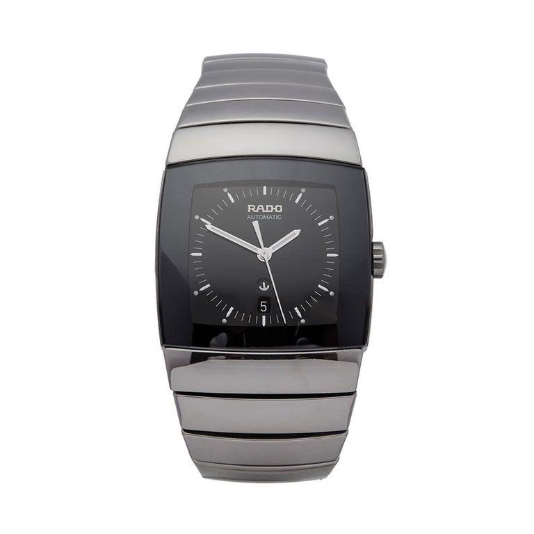 41aac030a Rado Sintra Ceramic R13876182 Wristwatch For Sale at 1stdibs