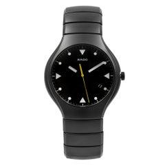 Rado True Ceramic Black Dial Men's Quartz Watch R27816162