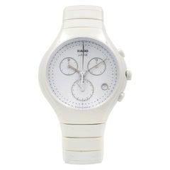 Rado True Jubile Chronograph White Quartz Men's Watch R27832702