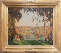 Rae Sloan Bredin, Indian Summer, Oil on Canvas, ca. 1926, Signed