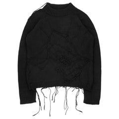 Raf Simons AW1998 Spiderweb Sweater