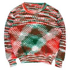 Raf Simons x Sterling Ruby AW2014 Acrylic Sweater