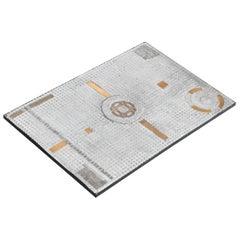 Raf Verjans Rectangular Mosaic Coffee Table, Belgium, 1970