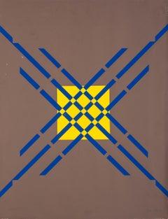 Letter X - Original Lithograph by Raphael Alberti - 1972