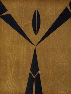 Letter Y - Original Lithograph by Raphael Alberti - 1972