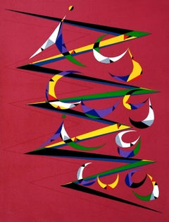 Letter Z - Original Lithograph by Raphael Alberti - 1972