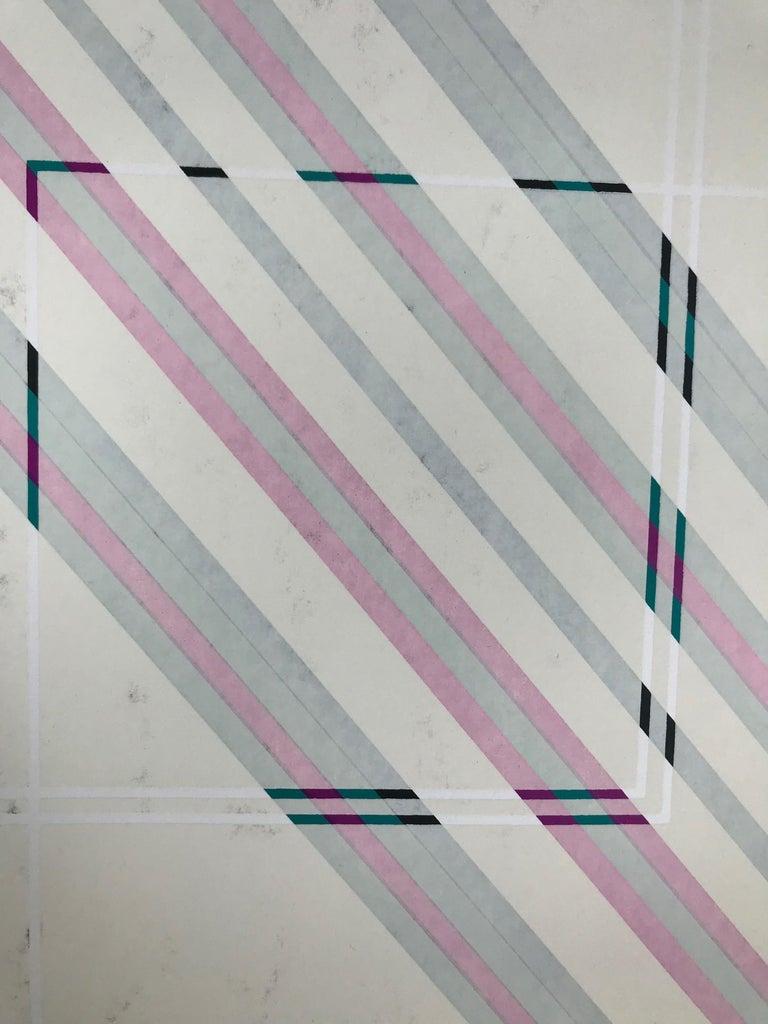 Jupiter 5 (Edition 5/295) - Abstract Geometric Print by Rafael Bogarin