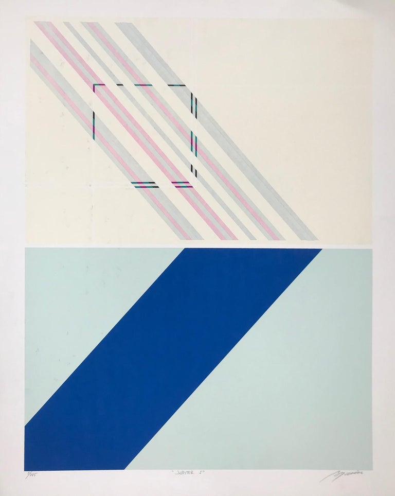 Rafael Bogarin Abstract Print - Jupiter 5 (Edition 5/295)