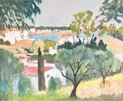 Cadaques view Spain original oil on canvas painting seascape