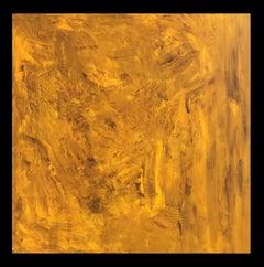 El brote II- original abstract canvas  acrylic painting