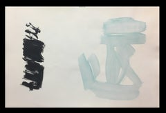 Interior Landscapes - Abstract Acrylic on paper Painting