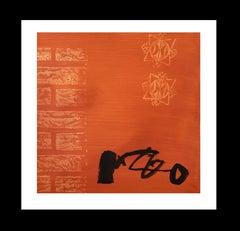 "RAFAEL RUZ - ACRYLIC PAPER ORIGINAL - "" NO TITLE"" 2012"