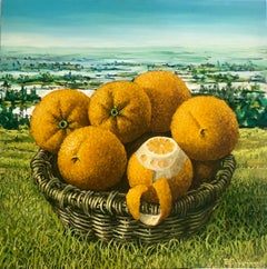 Still Life With Oranges In The Everglades