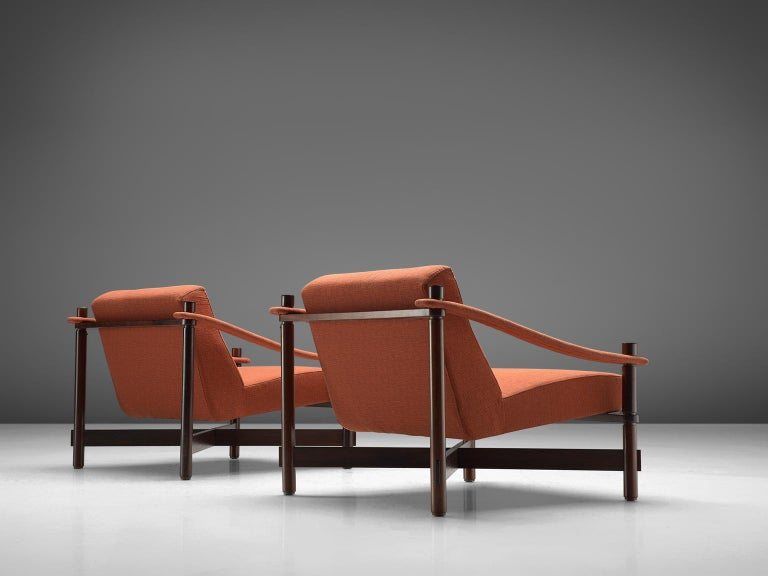 Italian Rafaella Crespi Set of Two Lounge Chairs For Sale